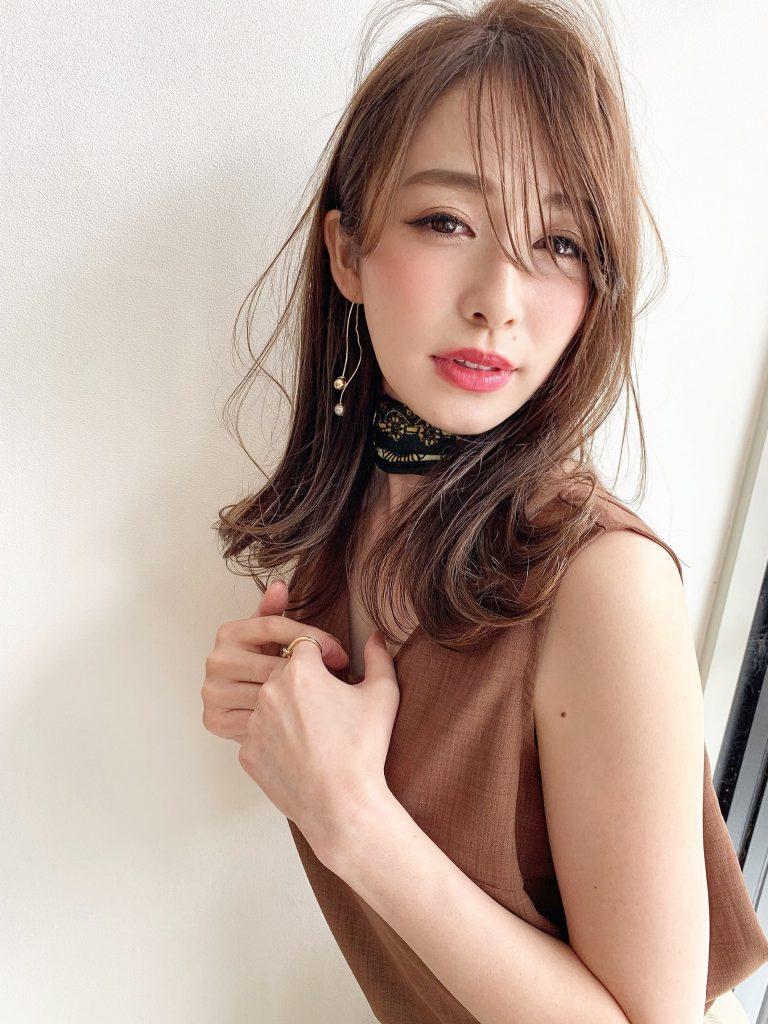スリークレイヤー&くるりんぱ団子アレンジ写真