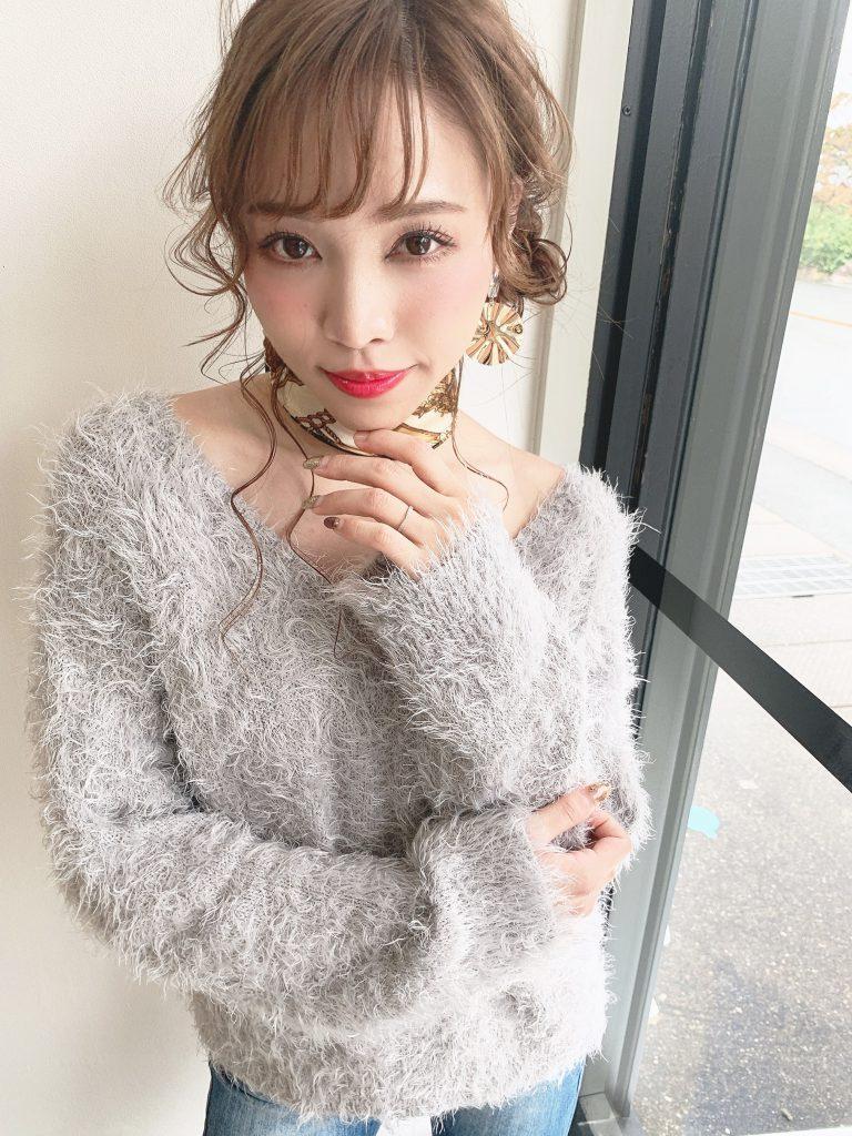アンニュレイヤー&サイド団子アレンジ写真